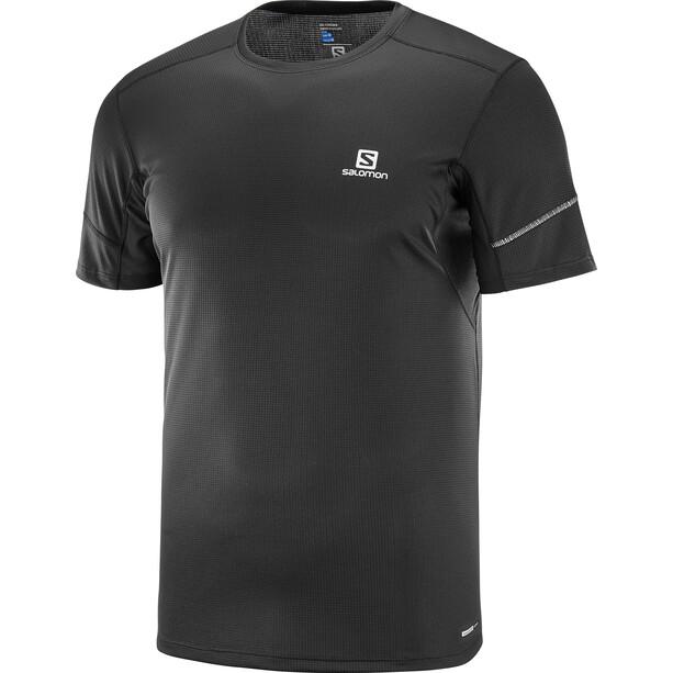 Salomon Agile Kurzarm T-Shirt 2019 Herren black