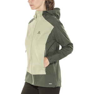 Salomon La Cote Stretch 2.5L Jacke Damen urban chic/shadow urban chic/shadow
