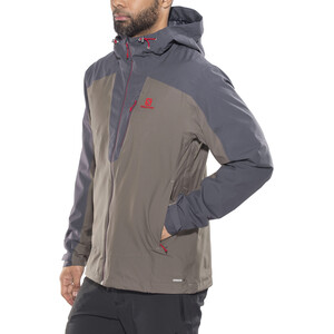 Salomon La Cote 2L Jacke Herren graphite/rabbit graphite/rabbit