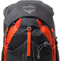 Osprey Exos 38 Rucksack Herren blaze black