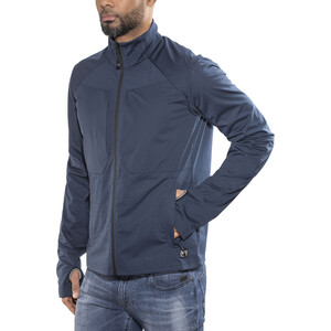 super.natural Waterfront Track Jacke Herren ocean deep ocean deep