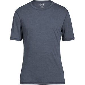 super.natural Base 140 T-Shirt Herren quiet shade melange quiet shade melange