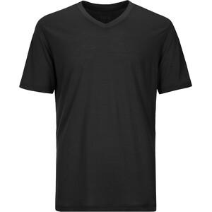 super.natural Base 140 V-Ausschnitt T-Shirt Herren cavier cavier