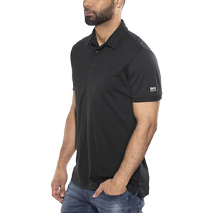 super.natural Essential Poloshirt Herren jet black jet black