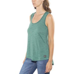 super.natural Motion Slash Neck Top Damen aloe green 3d aloe green 3d
