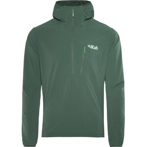 Rab Borealis Pull-On Windbreaker Herren evergreen evergreen