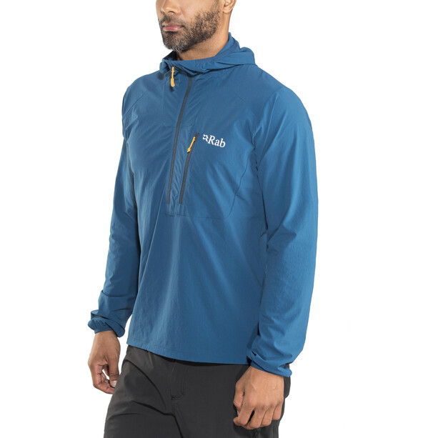 Rab Borealis Pull-On Windbreaker Herren ink