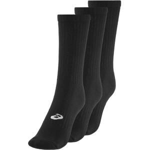 asics Crew Socken 3 Pack black black