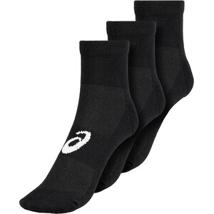asics Quarter Socken 3 Pack schwarz schwarz