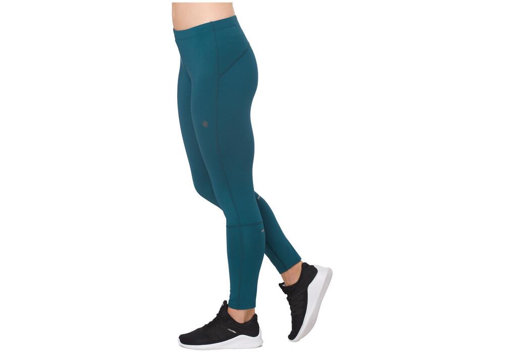 asics 7 8 tights pantalon running femme bleu sur. Black Bedroom Furniture Sets. Home Design Ideas