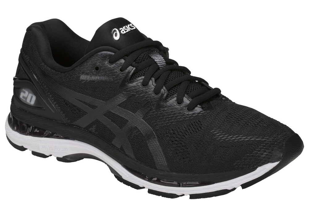 asics gel nimbus 20 chaussures de running homme noir boutique de v los en ligne. Black Bedroom Furniture Sets. Home Design Ideas