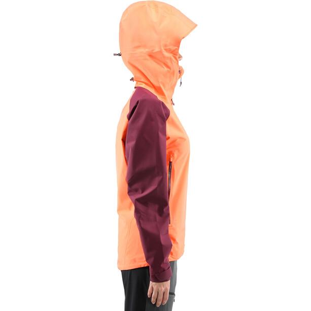 Haglöfs Roc Spirit Jacket Dam coral pink/aubergine