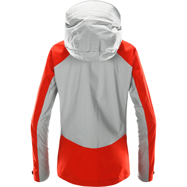 Haglöfs Kabi K2 Jacket Dam grå/röd
