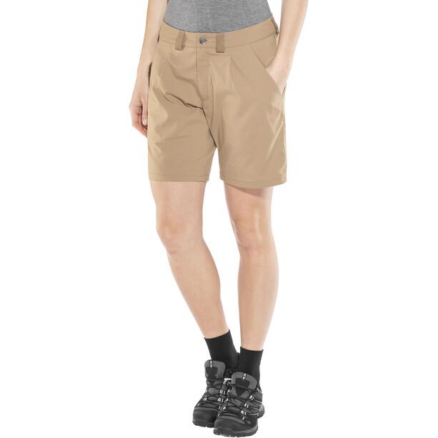 Haglöfs Mid Solid Shorts Dame Beige