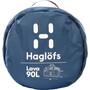 Haglöfs Lava 90 Duffel Bag blue ink/tarn blue