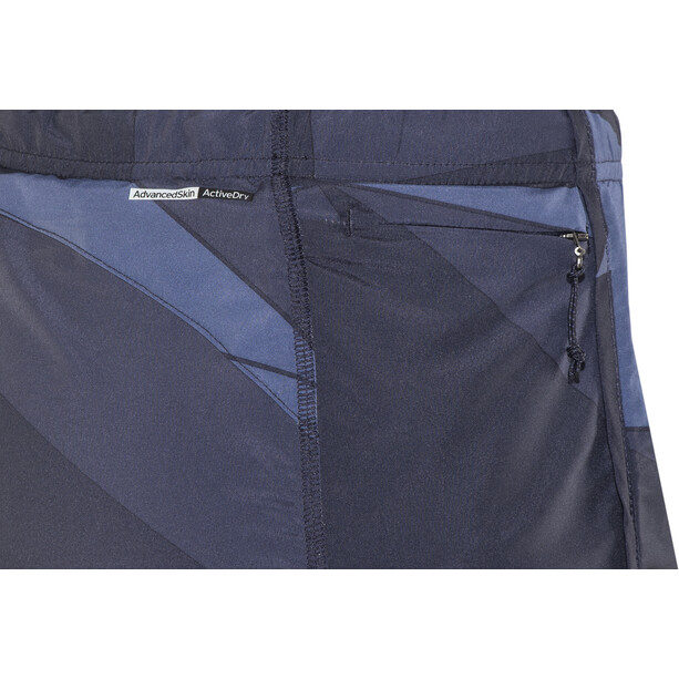 Salomon Agile Skort Dam blå/grå
