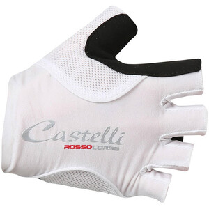 Castelli Rosso Corsa Pave Handschuhe Damen white/black white/black
