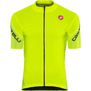 Castelli Entrata 3 Full-Zip Trikot Herren yellow fluo yellow fluo