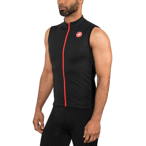 Castelli Entrata 3 FZ Sleeveless Jersey Herr light black light black