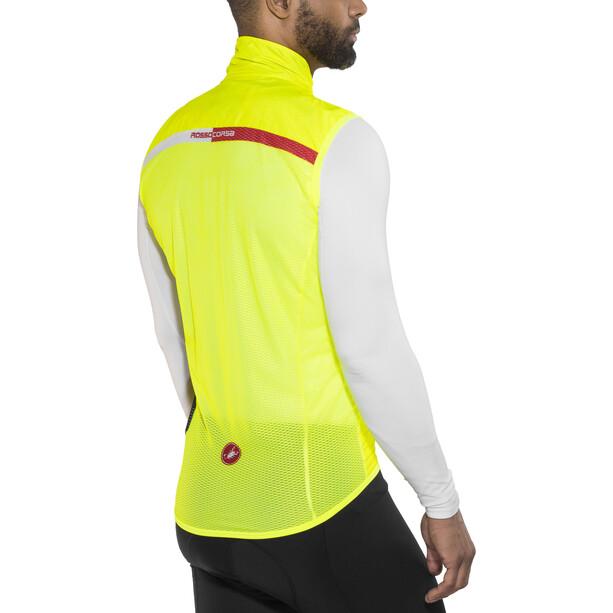 Castelli Pro Light Windweste Herren yellow fluo