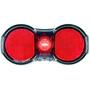 Busch + Müller Toplight Flat plus Dynamo Rear Light black/red