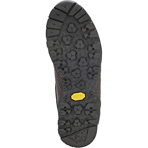Hanwag Makra Low GTX Schuhe Damen asphalt/dark garnet