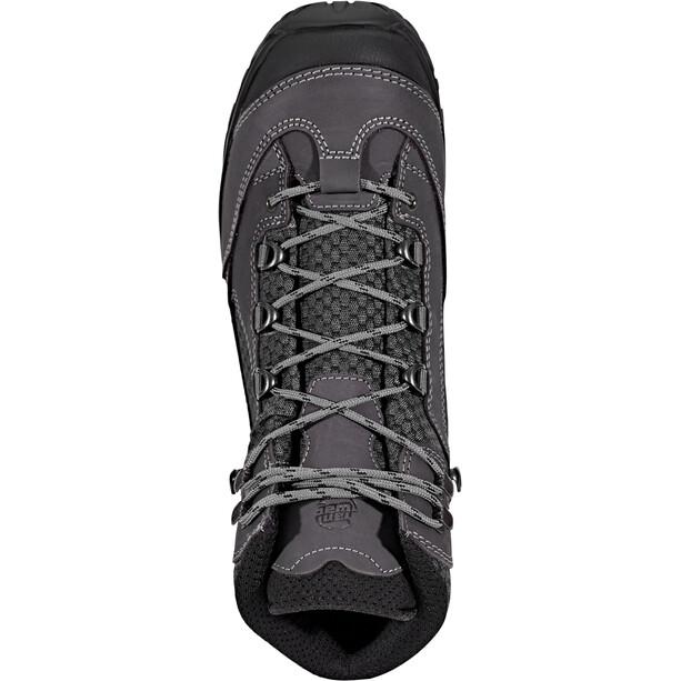 Hanwag Banks II Wide GTX Schuhe Herren asphalt/black