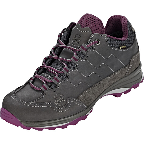 Hanwag Robin Light GTX Schuhe Damen asphalt/dark garnet