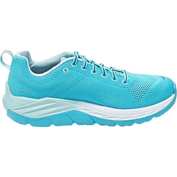 Hoka One One Mach Chaussures running Femme, bluebird/white