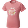 Columbia Trailtastic Kurzarmshirt Mädchen lollipop daisy graphic