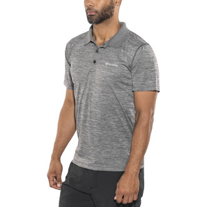 Columbia Zero Rules Poloshirt Herren shark heather shark heather