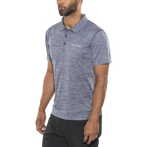 Columbia Zero Rules Poloshirt Herren carbon heather carbon heather