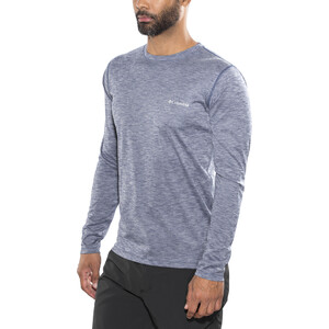 Columbia Zero Rules Langarmshirt Herren carbon heather carbon heather