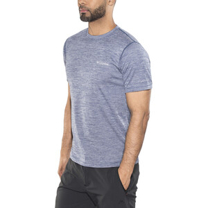 Columbia Zero Rules Kurzarmshirt Herren carbon heather carbon heather