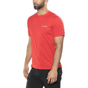 Columbia Zero Rules Kurzarmshirt Herren red spark red spark