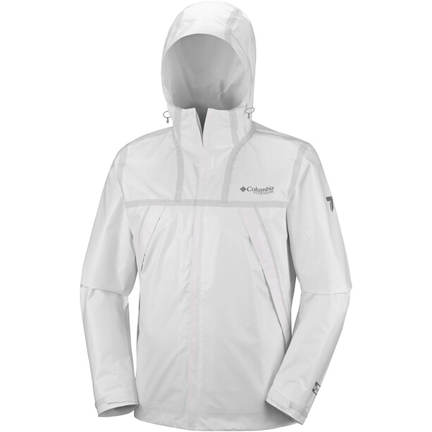 Columbia OutDry Ex ECO Tech Shell Jacke Herren white undyed