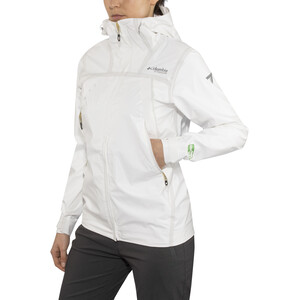 Columbia OutDry Ex ECO Tech Shell Jacke Damen white undyed white undyed