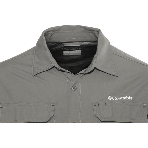 Columbia Silver Ridge II Langarmhemd Herren grill