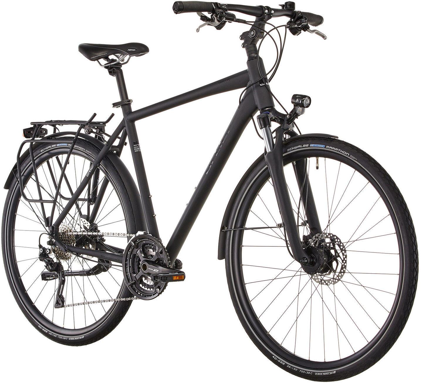 ortler ardeche touring bike black at. Black Bedroom Furniture Sets. Home Design Ideas