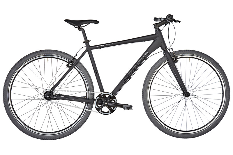 "Serious Unrivaled 7 matte black 52cm (28"") 2018 Cityräder, Gr. 52cm (28"")"