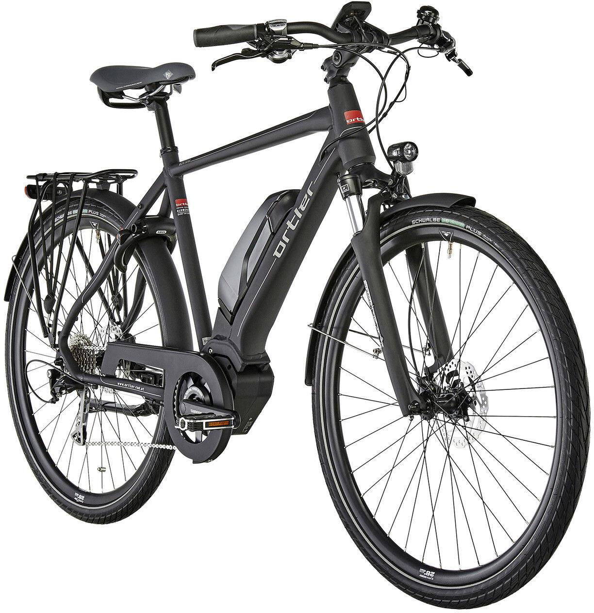 ortler montana e trekking bike black at. Black Bedroom Furniture Sets. Home Design Ideas