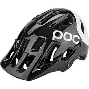 POC Tectal Race Spin Helmet uranium black/hydrogen white uranium black/hydrogen white