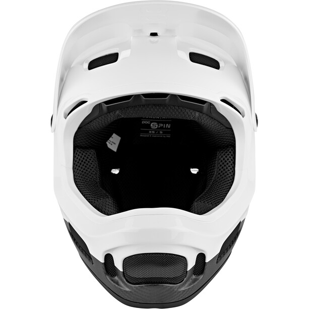 POC Coron Air Carbon Spin Helm hydrogen white/uranium black