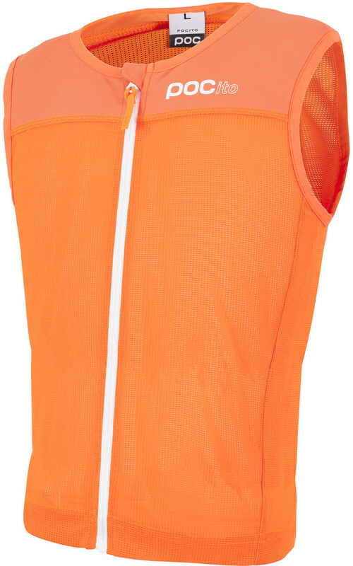 POC POCito VPD Spine Vest Kids fluorescent orange S 2018 Rücken- & Brustpanzer