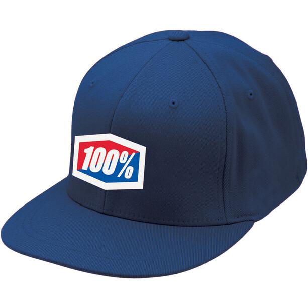 100% Essential J-Fit Kappe blue