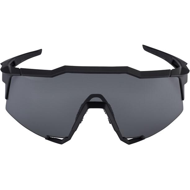 100% Speedcraft Brille Tall soft tact black/smoke
