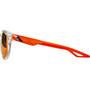 100% Campo Brille weiß/orange