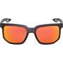 100% Centric Brille matte crystal black | hd red multilayer/hiper lense