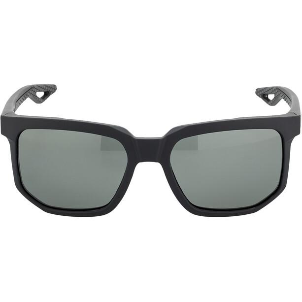 100% Centric Brille soft tact black | grey peakpolar