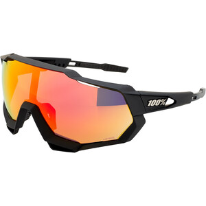 100% Speedtrap Aurinkolasit, musta/oranssi musta/oranssi